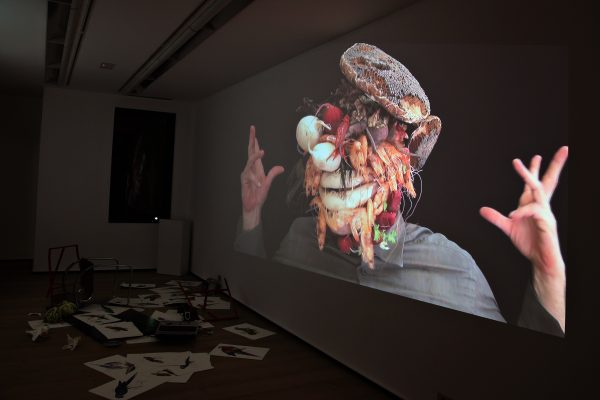 38 What! Art though like the Adder waxen and deaf_ Rafael Perez Hernando Gallery Madrid Video Instalaltion in two channels