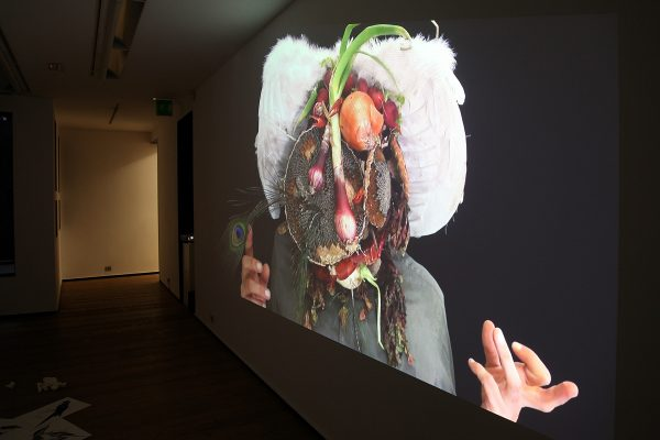 40 What! Art though like the Adder waxen and deaf_ Rafael Perez Hernando Gallery Madrid Video Instalaltion in two channels