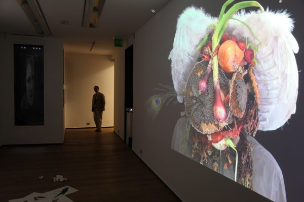 50 What! Art though like the Adder waxen and deaf_ Rafael Perez Hernando Gallery Madrid Video Instalaltion in two channels